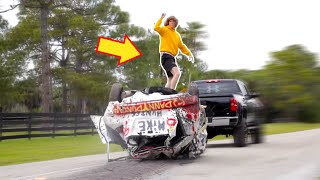 Download Car Surfing with Danny Duncan! Video