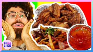 Download Curly Tries Latino Food In New York City Video