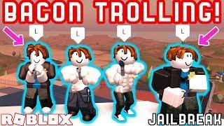 Download BACON GANG TROLLING IN JAILBREAK!! - Roblox Jailbreak Ft. MyUsernamesThis, JoeydaPlayer, Deejusgames Video