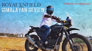 Download Royal Enfield Himalayan First Ride Review, Walkaround, Exhaust Note #Bikes@Dinos Video