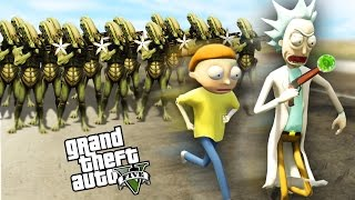 Download RICK AND MORTY IN GTA 5! - GTA 5 Mods Gameplay Video