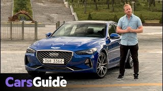 Download Genesis G70 2018 review: first drive video Video