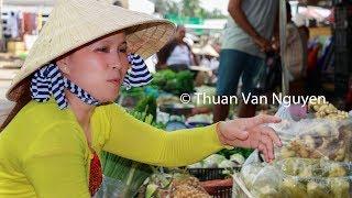 Download Vietnam || Nga Bay Village Market || Hau Giang Province Video