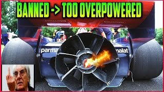 Download BANNED Race Cars | Too overpowered, cheating and ″unwanted innovation″ | TOP 5 Part 1 Video
