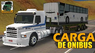 Download Grand Truck Simulator - CARGA DE ÔNIBUS E SKIN 113H Video