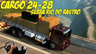 Download CARGO 24-28 NA SERRA RIO DO RASTRO - EURO TRUCK SIMULATOR 2 - G27!!! Video
