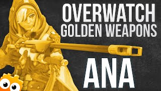 Download Overwatch - Buying The Golden Weapons For Ana... RIP 300CP! Video