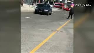 Download Video appears to show police takedown at Yonge & Finch Video