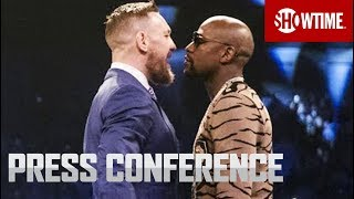 Download Floyd Mayweather vs. Conor McGregor: London Press Conference | SHOWTIME Video