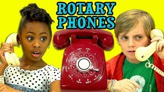 Download KIDS REACT TO ROTARY PHONES Video