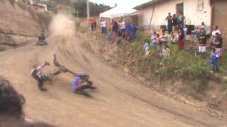 Download Carrera de coches pimampiro - derrape 23 de mayo 2015 fiestas Video