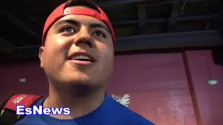 Download Robert Garcia On Vergil Ortiz (10-0 10 KOs) He Trains Non-Stop EsNews Boxing Video