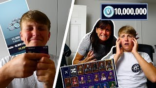 Download Kid Spends $750 on Fortnite Season 4 with Mom's Credit Card... [MUST WATCH] Video