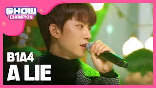 Download Show Champion EP.208 B1A4 - A Lie Video