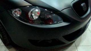 Download CAR WRAPPING GREECE BLACK MATTE SEAT LEON.wmv Video