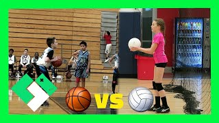 Download 🏀 BASKETBALL VS 🏐 VOLLEYBALL (Day 1785) Video