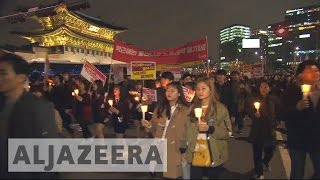 Download South Korea protests continue Video