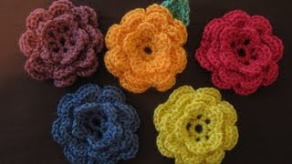 Download How to crochet a flower, part 1 Video