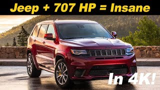 Download 2018 Jeep Grand Cherokee Trackhawk First Drive Video