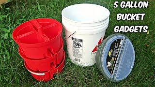 Download 5 Gallon Bucket Gadgets put the Test! Video