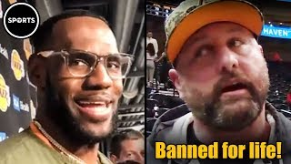 Download MAGA Douche BANNED From NBA For Life Video