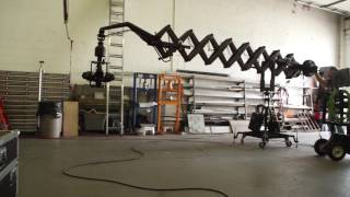 Download First try of the new scissor crane with flight head mini Video