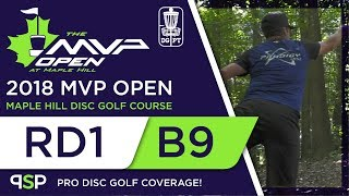 Download Round One 2018 MVP Open - Back 9 | Gurthie, Koling, Moriarty, Ulibarri Video