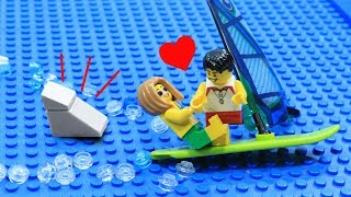Download Lego Shark Attack: Love At The Beach Video