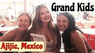 Download Grand Kids visit Ajijic, Mexico Sierra Sophia Jamae Video