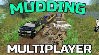 Download FARMING SIMULATOR 2017 | MUDDING WITH TOYS | MULTIPLAYER | CAN AM | RZR Video