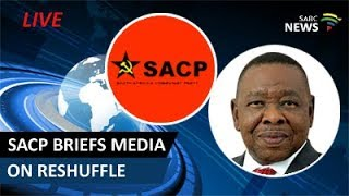 Download SACP briefs the media on the latest cabinet reshuffle Video