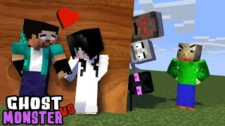 Download MONSTER SCHOOL : GHOST VS MONSTERS - BEST FUNNY MINECRAFT ANIMATION Video