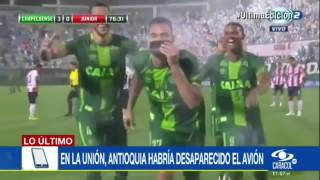 Download Ultima Hora Se estrella el avion que transportaba a los jugadores del Chapecoense Video