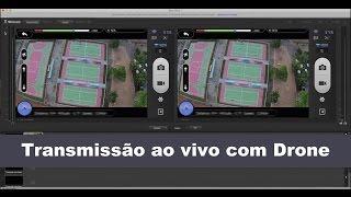 Download Transmissão ao vivo com Drone, Simple Live Transmission / Broadcast using Drone - DJI Phanton Vision Video