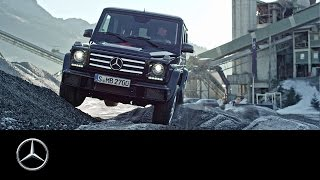 Download A challenging offroad experience with the G-Class - Offroad Tracks Part II - Mercedes-Benz original Video