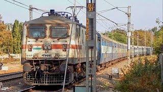 Download ICF Vs LHB : High Speed Clash | 11078 JAT-PUNE Jhelum Express Crossing 11011 LTT-NED Express Video