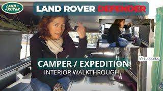 Download Land Rover Defender 110 Overland/Camper Interior Video