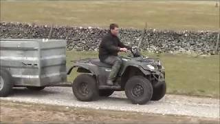 Download Easy Sheep Feed Trailer Video