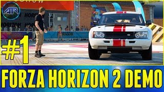 Download Let's Play : FORZA HORIZON 2 [Demo] - BOWLER RALLY RACE!! (Part 1) Video