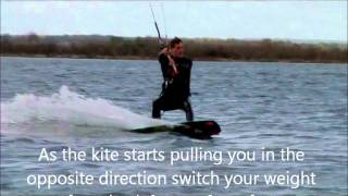 Download Learn to kiteboard turns and Transitions Video