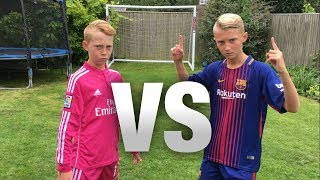 Download Messi VS Ronaldo FOOTBALL CHALLENGES! (WITH A FORFEIT) Video