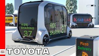 Download Toyota e-Palette Concept Video