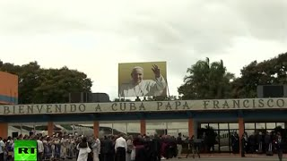 Download EN VIVO: El Papa Francisco aterriza en La Habana, Cuba Video