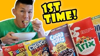 Download TRYING BANNED CEREAL for the 1ST TIME FINALLY    Life After College: Ep. 543 Video