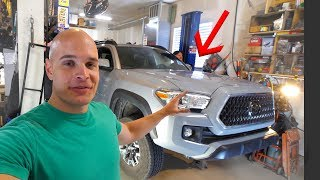 Download TACOMA TEARDOWN - Lifting my new truck!! Video