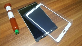 Download 🔧Galaxy TAB S Glass Only Replacement - FULL GUIDE Video