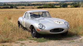 Download Full throttle in a Lightweight Jaguar E type - pure sound! Video