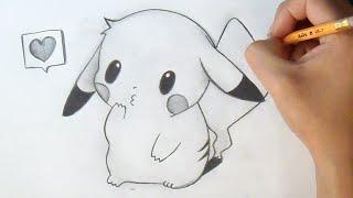 Download Cómo dibujar Chibi Pikachu | How to Draw Chibi - Pikachu Anime Video