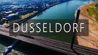 Download DUSSELDORF - GERMANY. DJI Phantom 4 - Epic Drone Flight Over The City in 4k Video