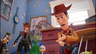 Download KINGDOM HEARTS III – D23 2017 Toy Story Trailer [multi-language subs] Video